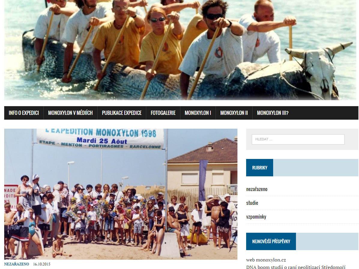 Monoxylon.cz website.
