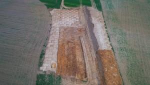 Dronový snímok skúmanej plochy II.